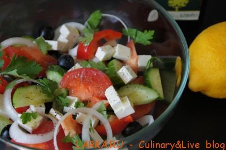 салат с фетаксой рецепт с фото